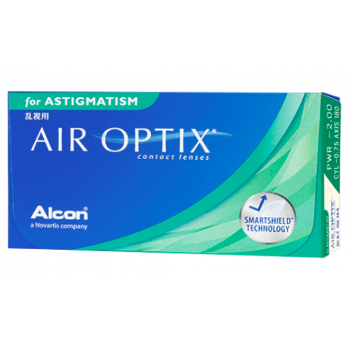 AIR OPTIX FOR ASTIGMATISM Ciba Vision-Alcon, Boite de 6 lentilles